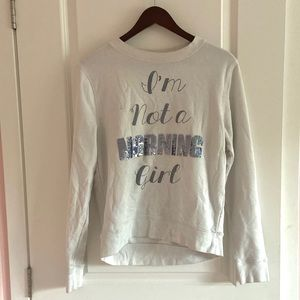 juicy couture embroidered sequin sweatshirt